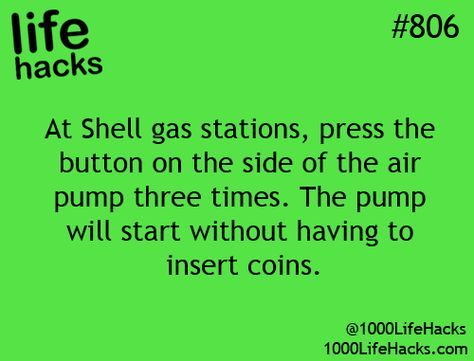 more life hacks 12 They are not suppose to charge you for the air... but this is...