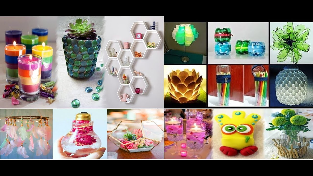 Diy Projects Video Easy Crafts Ideas From Plastic Bottle And