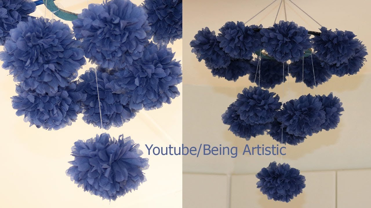 Diy projects video hanging tissue paper flowers diy simple home diy projects video hanging tissue paper flowers diy simple home decor handmade decoration diyall home of diy craft ideas inspiration mightylinksfo