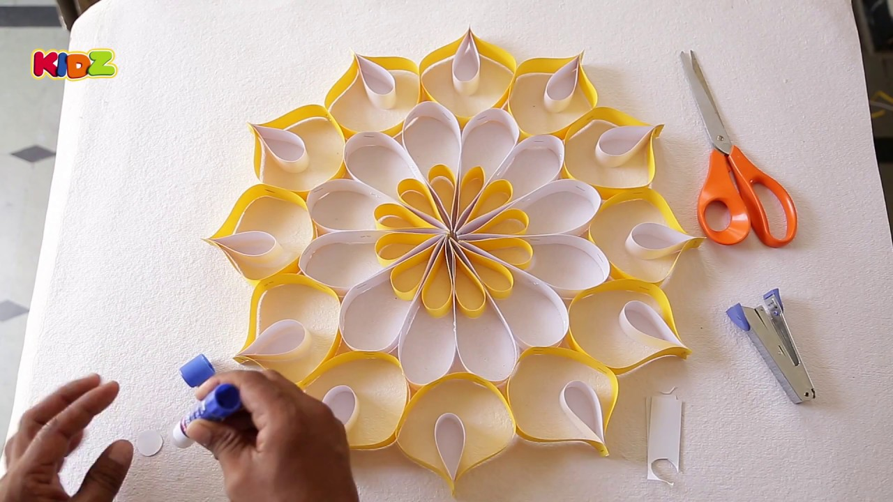 Diy Projects Video How To Make Wall Decoration With Paper