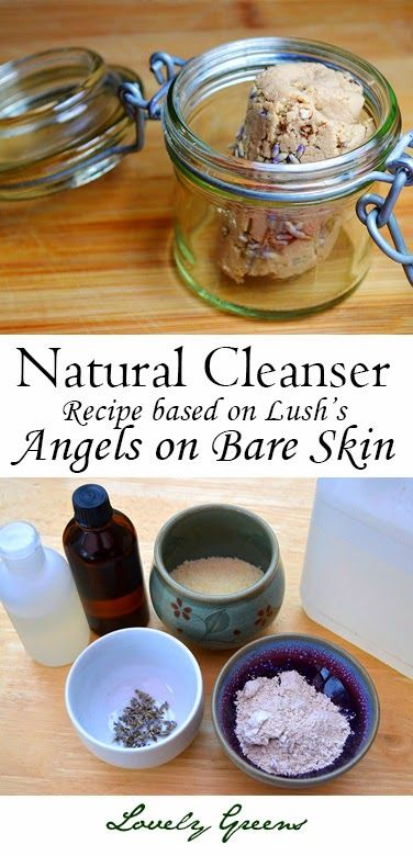 Recipe for a gentle and natural soap-less facial cleanser based on Lush's popula...