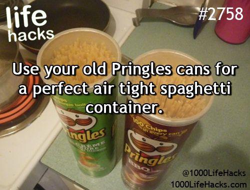 Best DIY Life Hacks & Crafts Ideas : Give your old Pringles