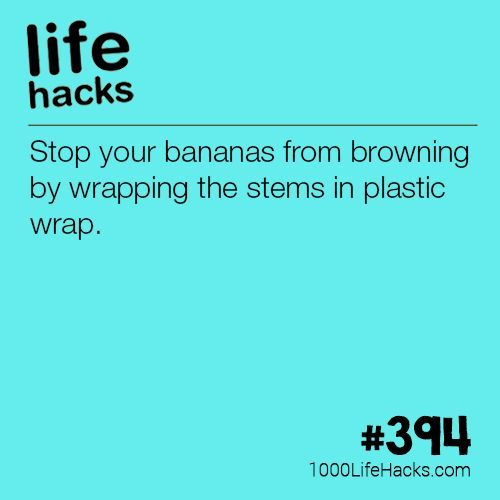 The post Slow Down The Aging Process Of Bananas appeared first on 1000 Life Hack...