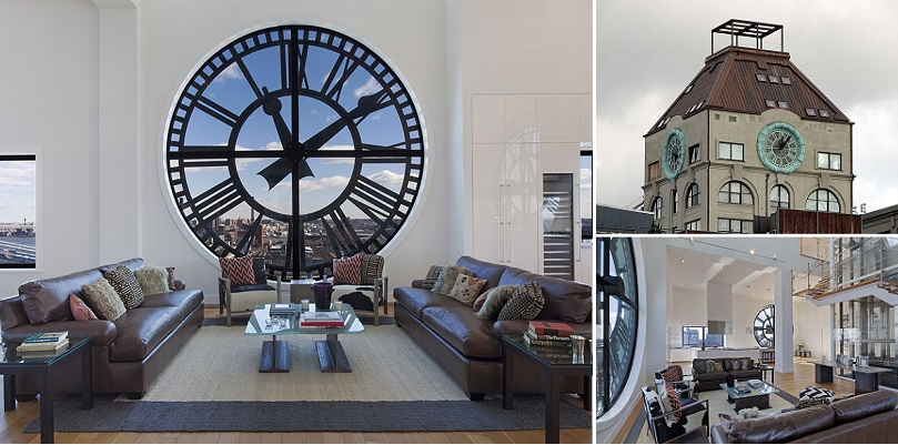Home Design Inspiration An Old Clock Tower Converted Into A In Brooklyn New York