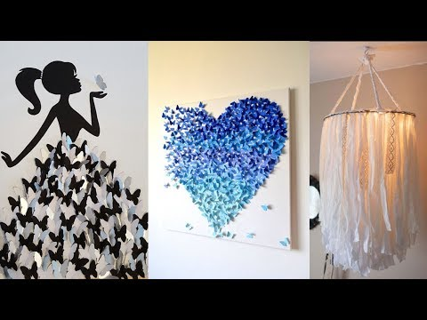 DIY Projects Video: DIY ROOM DECOR! 26 Easy Crafts Ideas at ...