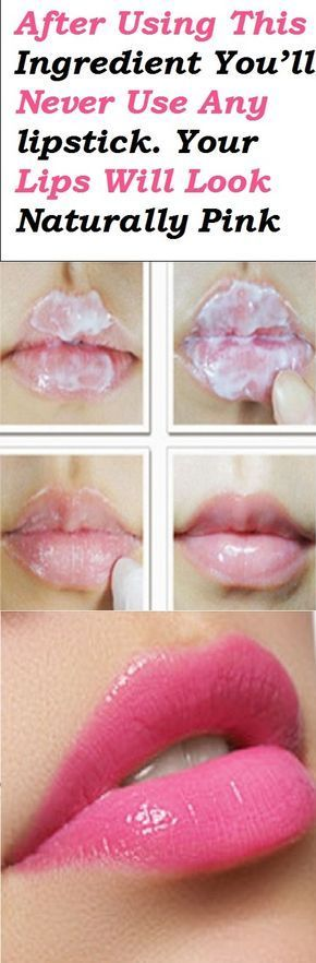 After Using This Ingredient You'll Never Use Any lipstick. Your Lips Will Look...