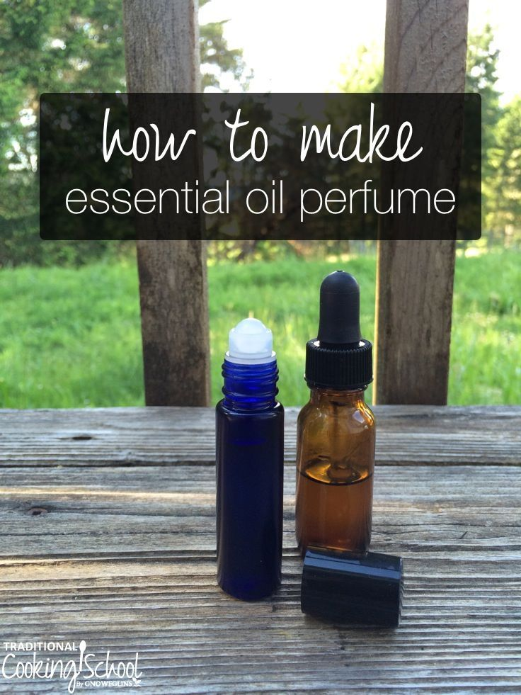 How to Make Essential Oil Perfume | I've wanted to wear perfume all my life, but...