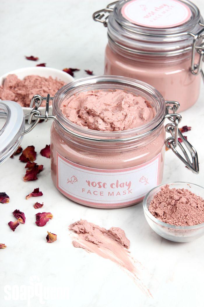 Diy Skin Care Tips Rose Clay Face Mask Diy Diyall Net Home Of