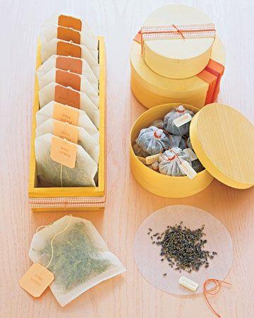 Tub Teas ... Ive seen lots of recipes for bath bombs, bath salts, etc ... but do...