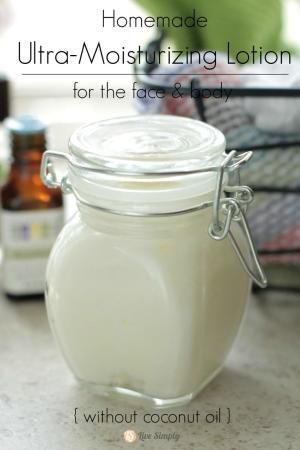~Ultra-moisturizing Lotion~ 1/2 cup (4oz) shea butter; 2 TB skin-nourishing oil,...