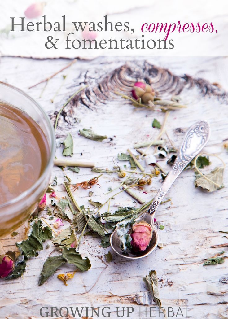 Using Herbs: Herbal Washes, Compresses, and Fomentations | Growing Up Herbal | L...