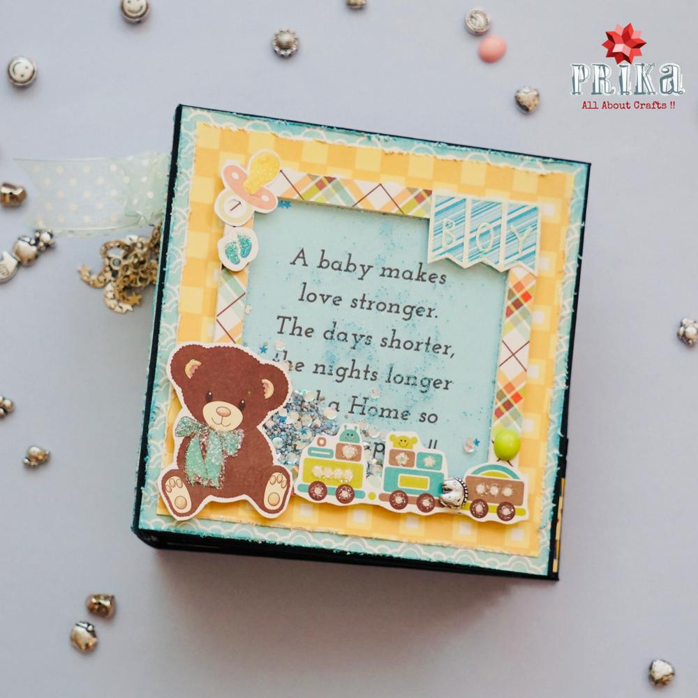 Diy Cute Cuddly Boy Mini Book By Prika Prika Medium Diyall
