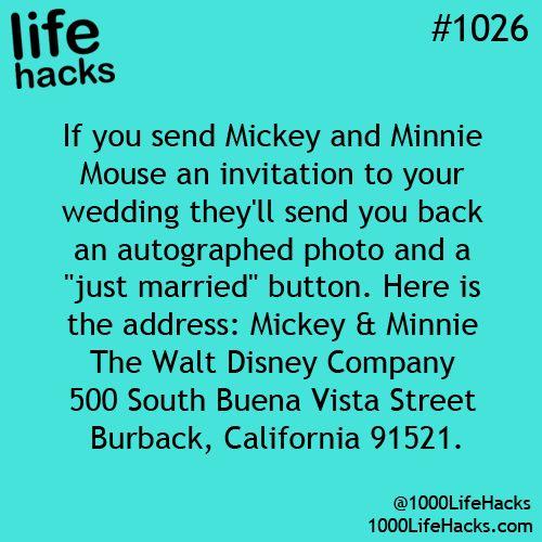 1000 Life Hacks - Wedding Freebies - Find fantastic freebies and life hacks for ...
