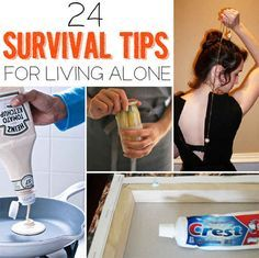 24 Survival Tips For Living Alone --- These great life hacks come in handy even ...
