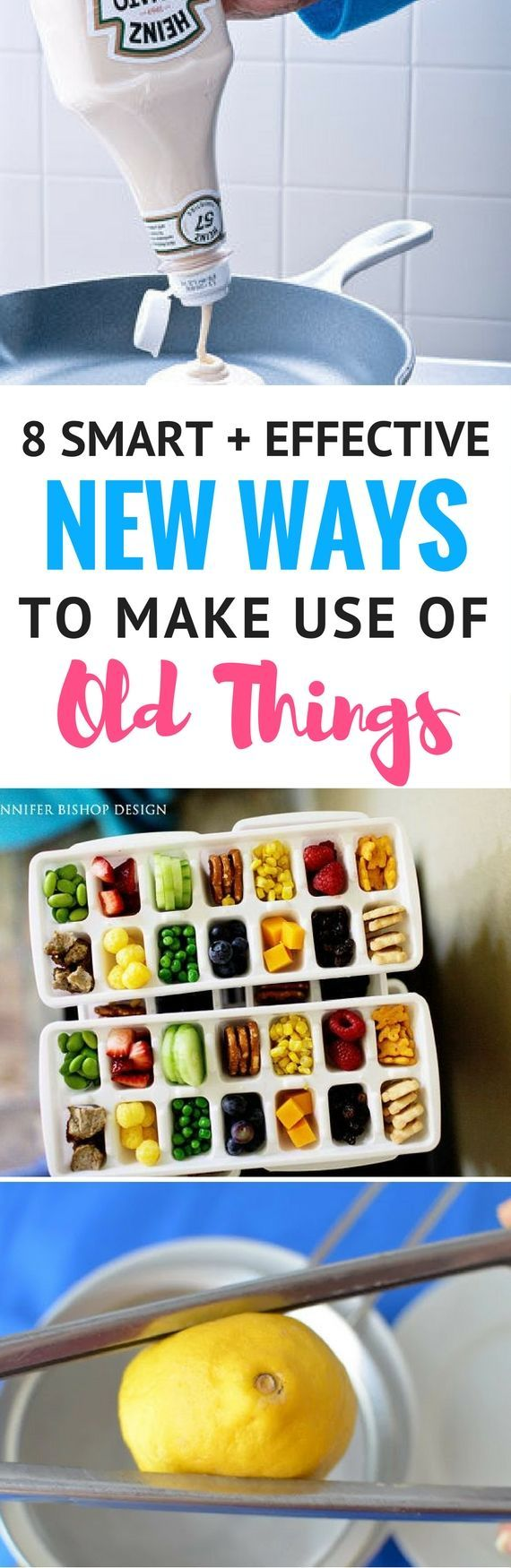 8 Creative And Fun New Ways To Use Old Things - Looking for ways to reuse ordina...
