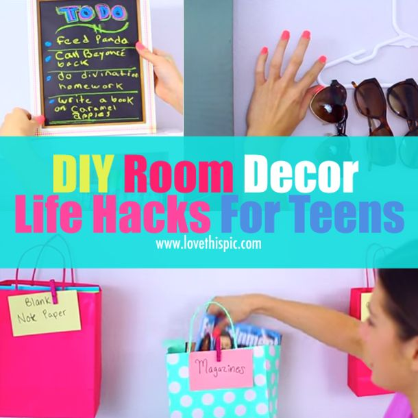 Best Diy Life Hacks Crafts Ideas Diy Room Decor Life Hacks For
