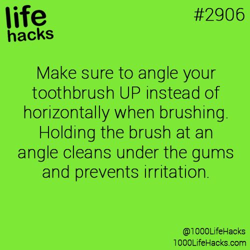 How to properly brush your teeth !