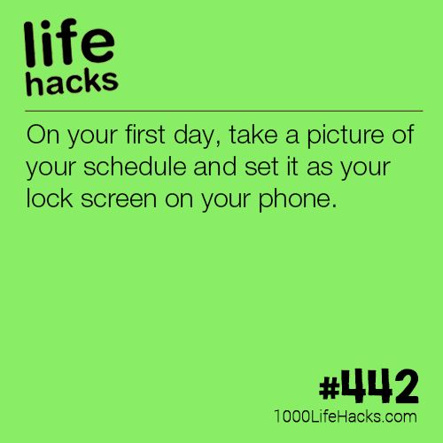best diy life hacks crafts ideas tip for your first day of