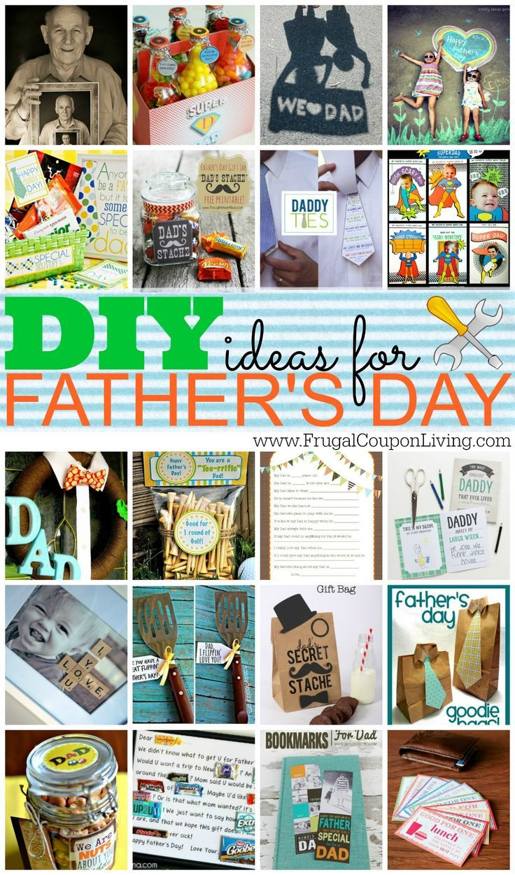 DIY Fathers Day Ideas for the Kids! Round-up of some of the best ideas from Blog...