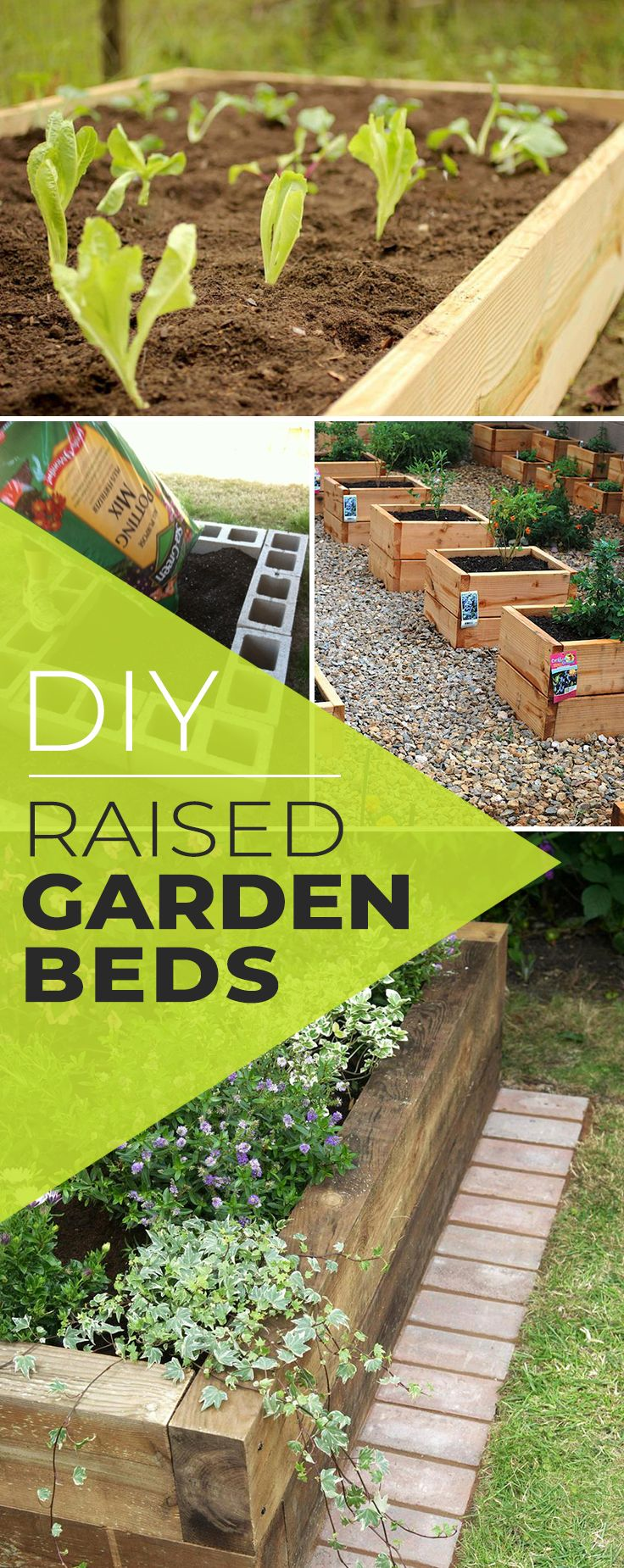 DIY Raised Garden Beds & Planter Boxes! • Check out all the tutorials and proj...