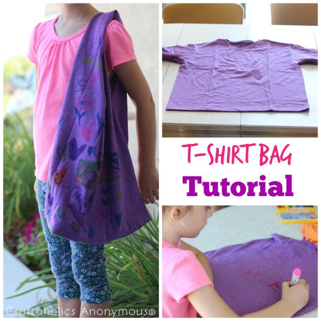 DIY easy sewing pattern for your kids! Find an old shirt, or even skirt and craf...