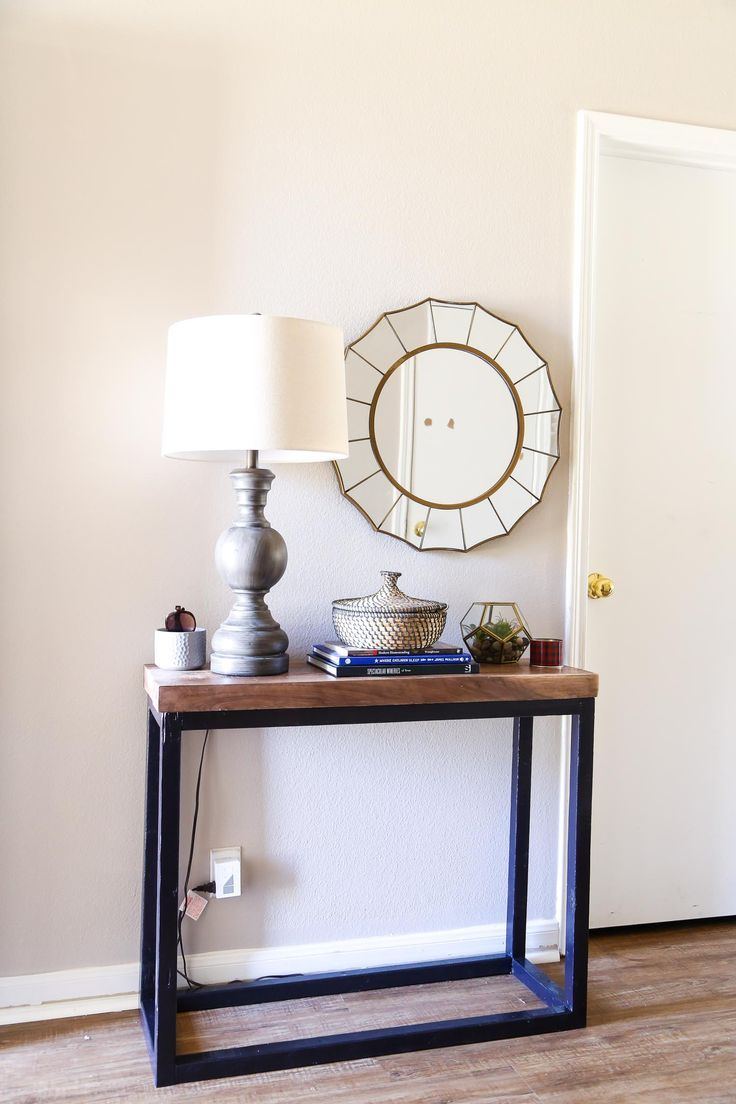 DIY Crafts : Easy DIY console table - DIYall.net | Home of DIY ...
