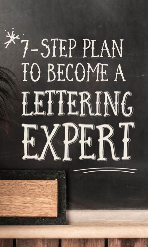 Hand Lettering Tutorials #handlettering #chalkboardart #lettering #calligraphy #...