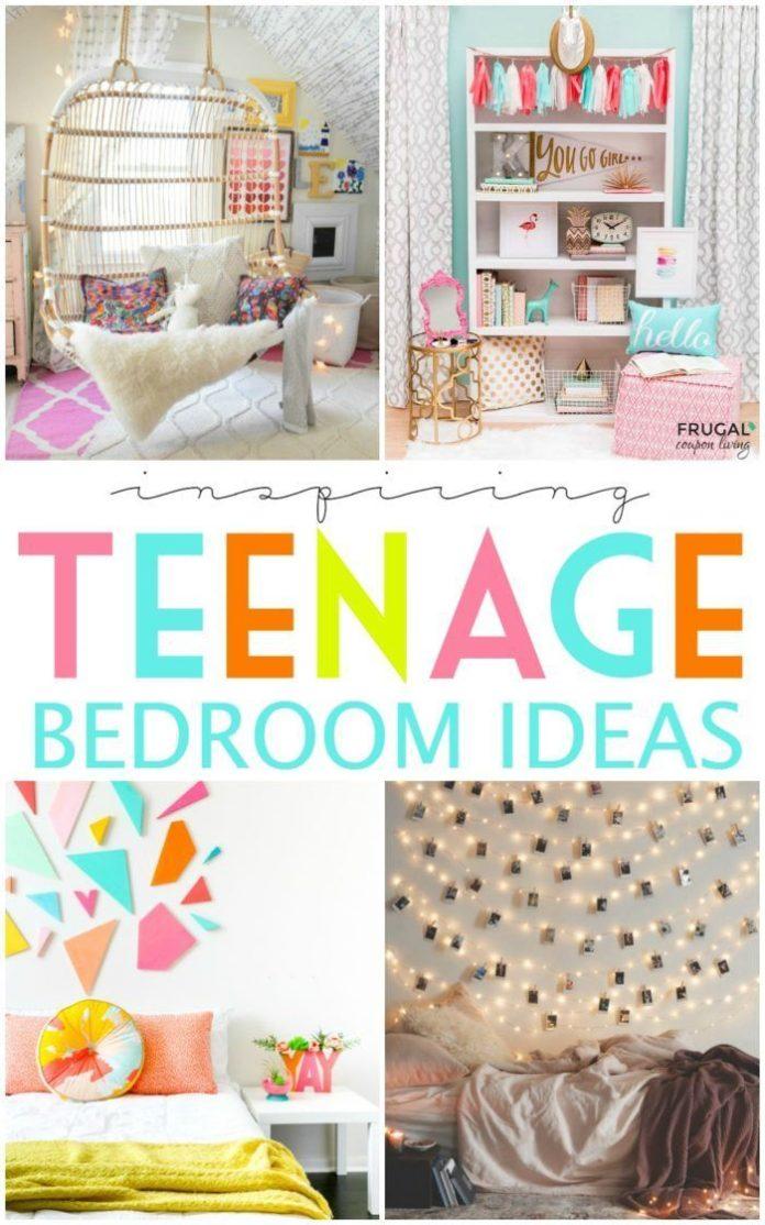 Diy Crafts Inspiring Teenage Bedroom Ideas On Frugal
