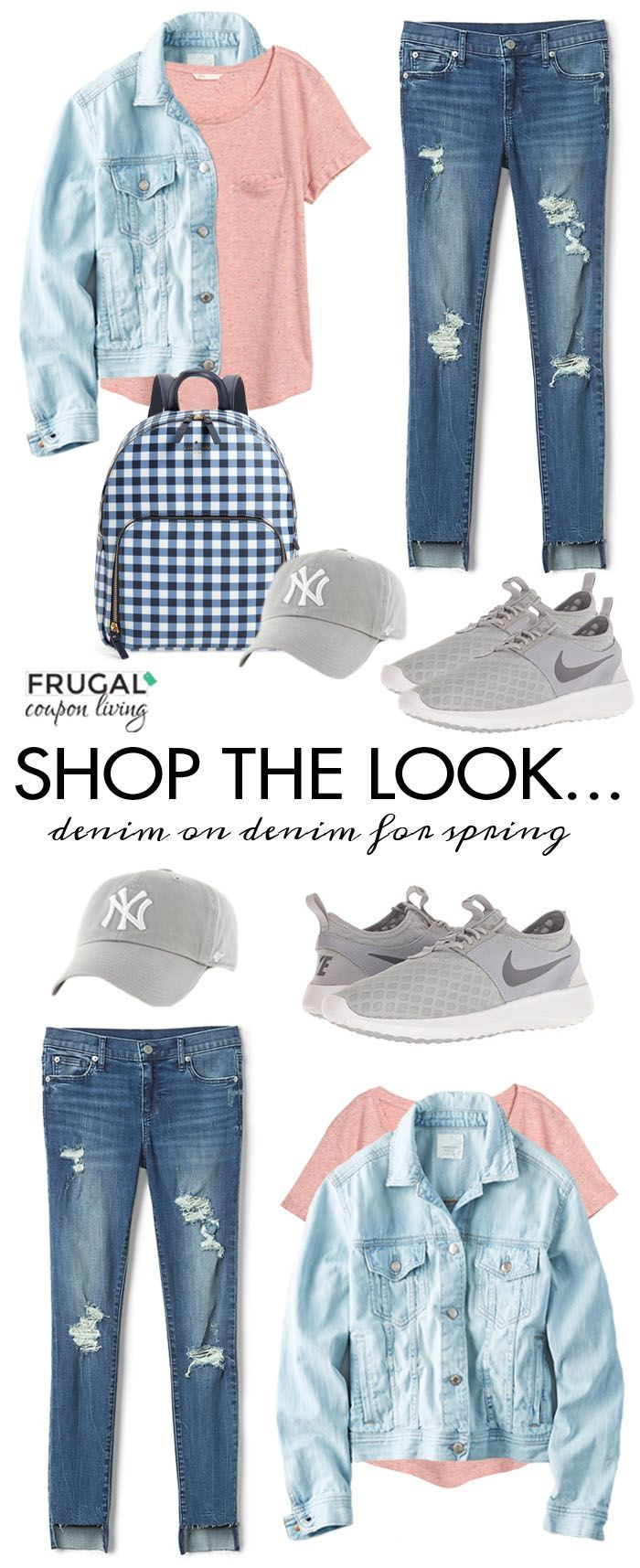 It's anotherFrugal Fashion Friday. This week we focus on a Denim on Denim Outf...