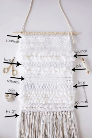 Learn to create beautiful texture to your weaving by following this step-by-step...