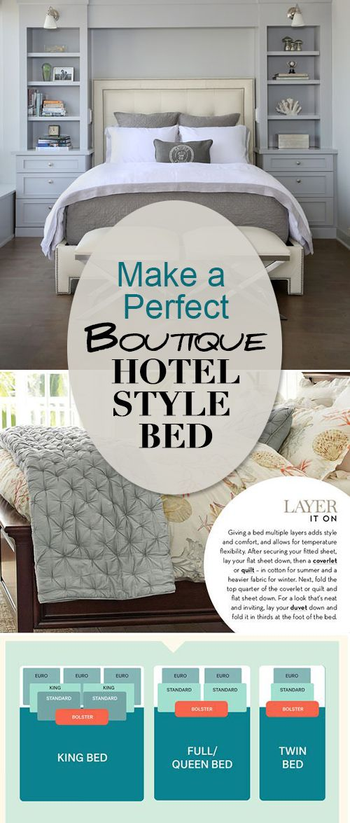 Make a Perfect Boutique Hotel Style Bed • Learn all the tricks to making the p...