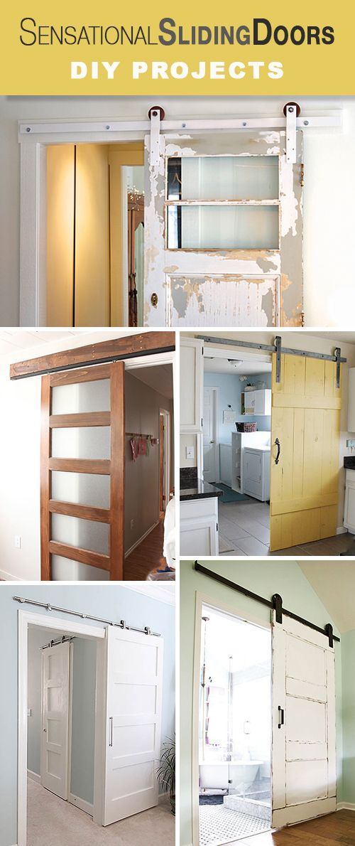 Sensational Sliding Doors! • All kinds of great DIY tutorials, ideas and proje...