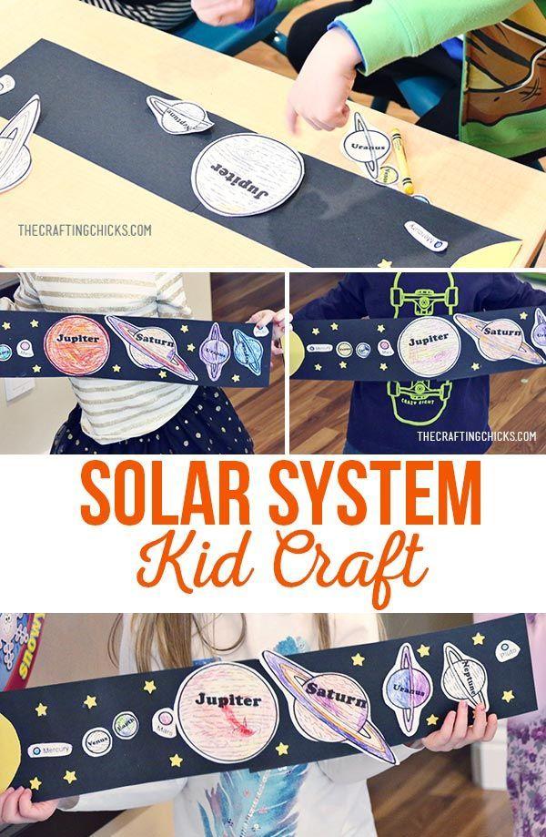 Solar System Craft | Kids Craft | Kids Activity | Space Activity | Space Craft |...