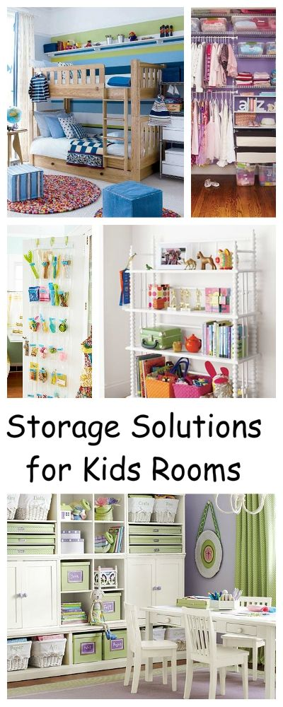 DIY Crafts : Storage Solutions for Kids\' Rooms • Round Up of ...