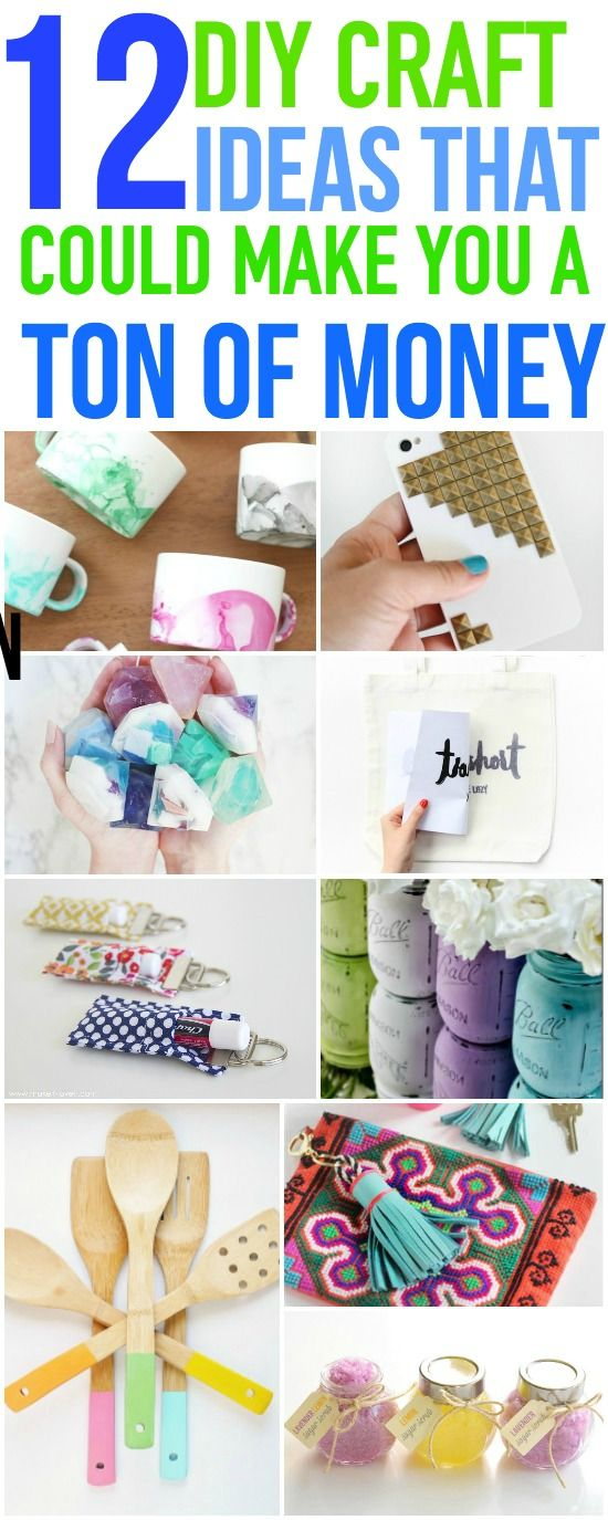 Diy Crafts These 12 Make And Sell Diy Craft Ideas Are A Great Way
