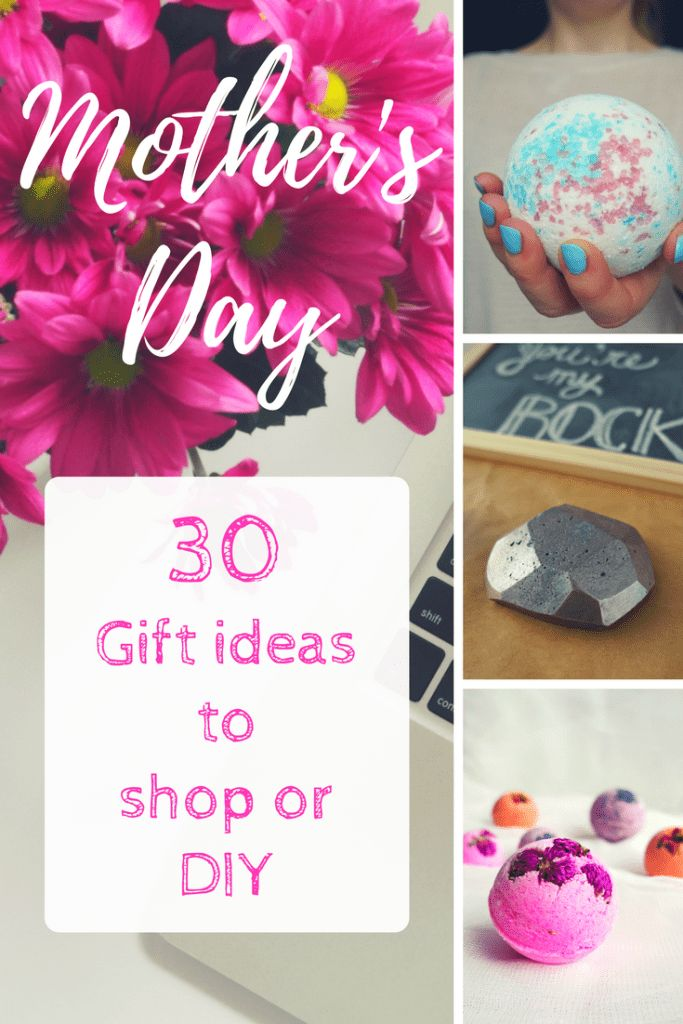 This list is AMAZING! DIY Gift Ideas for Mother's Day Gift: craft ideas and ...