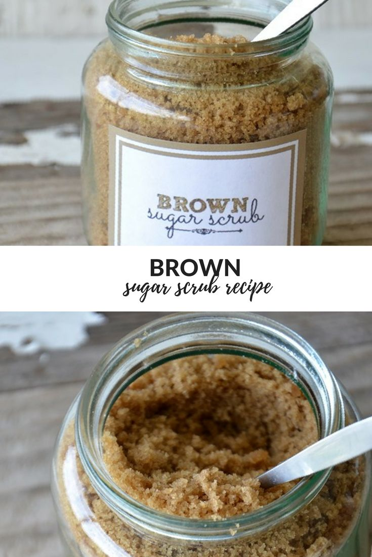 Treat Your Skin To This Amazing Brown Sugar Body Scrub! It Is The Perfect Way To...