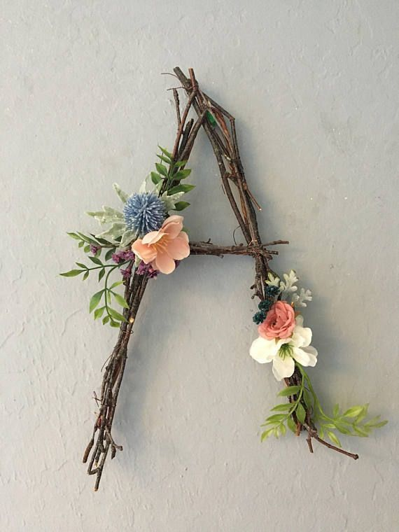 diy crafts woodland nursery letter twig letter twig monogram