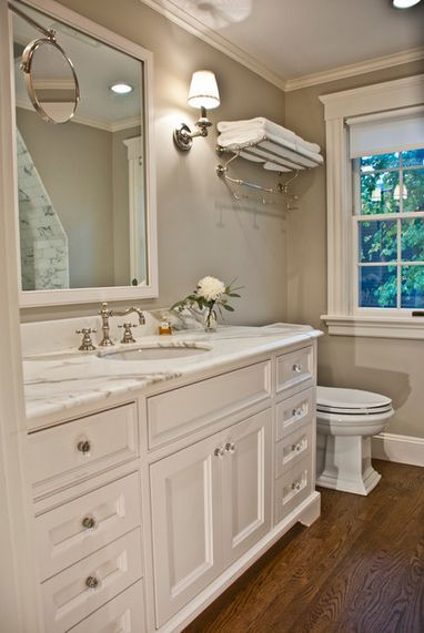 15 Cozy #Design Ideas For Small and Functional Bathrooms #homedecor #diydecor