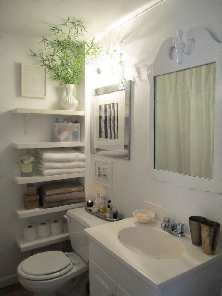 15 Decor and #Design Ideas for Small Bathrooms #diydecor #homedecor