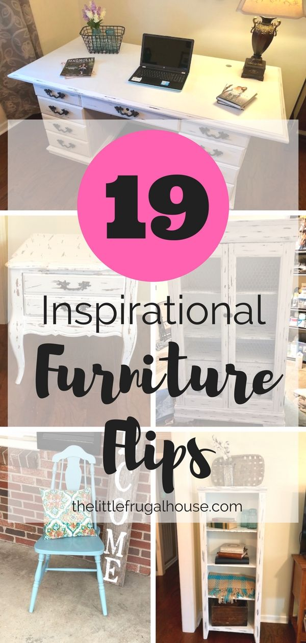 19 Inspirational Furniture Flips - The Little Frugal House