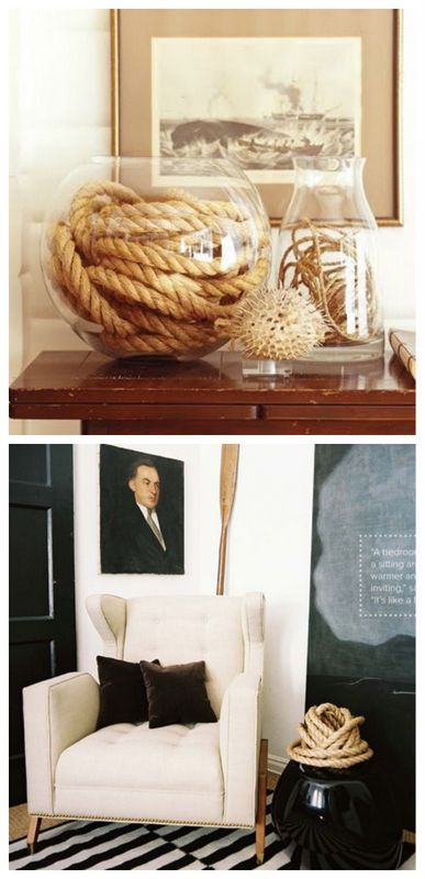 25 Awesome #DIY Crafting Ideas For Working With #Ropes #diyhomedecor