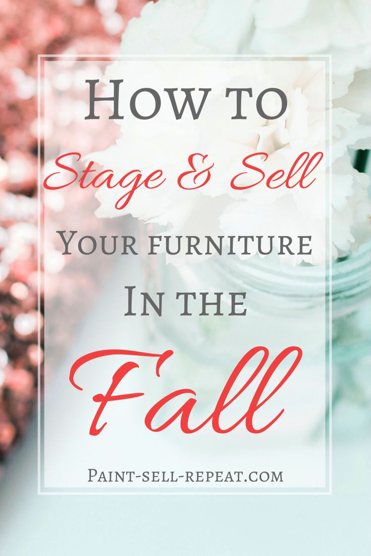 An amazing resource with picture inspiration and ideas for STAGING your furnitur...