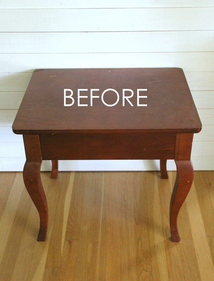 Compass Rose End Table Makeover AND FREE Downloadable Graphic! (with Dixie Belle...
