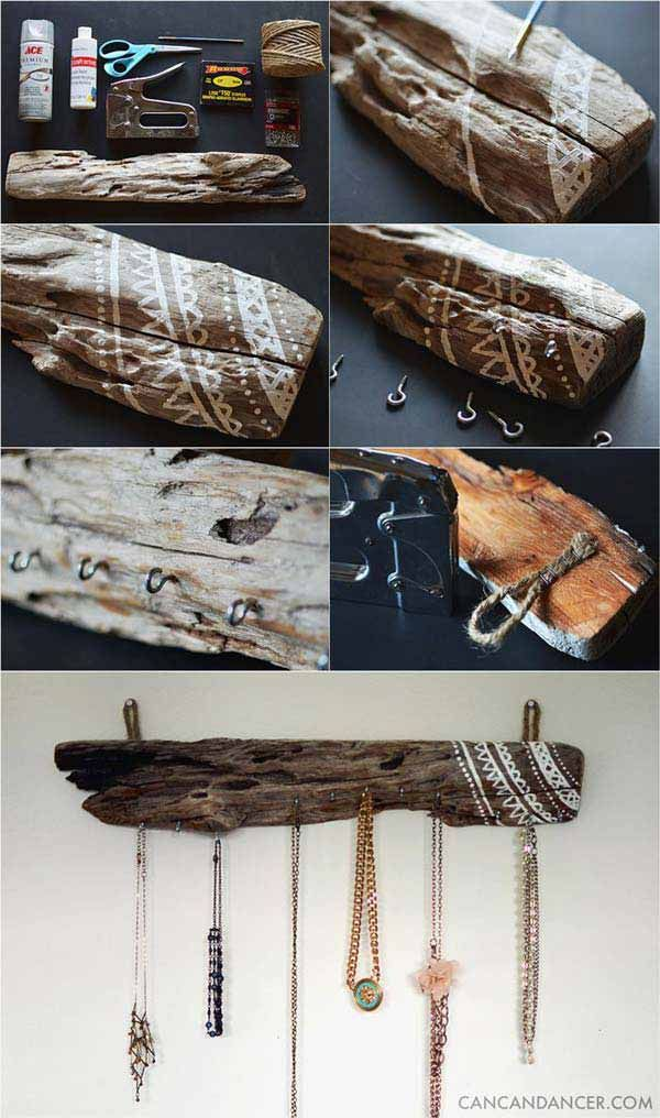 Decorating With Driftwood Around The Home With Amazing #DIY Ideas #diydecor #diy