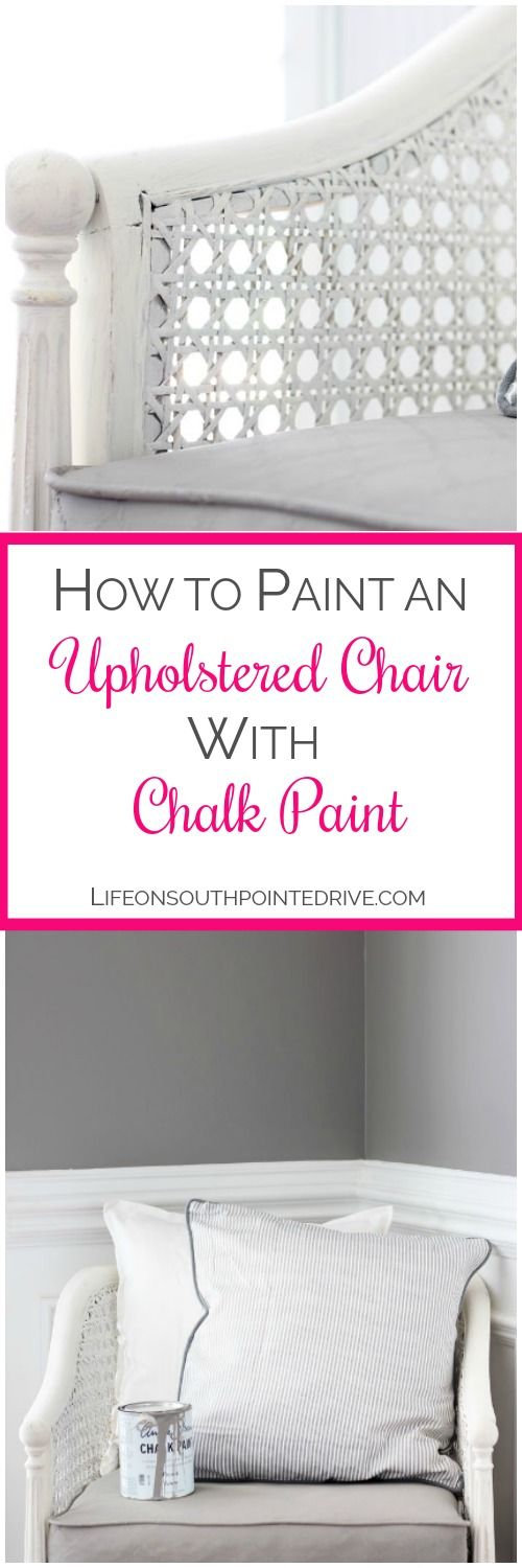 How-to-Paint-Upholstery-the-Easy-Way, how to paint upholstered furniture, paint ...