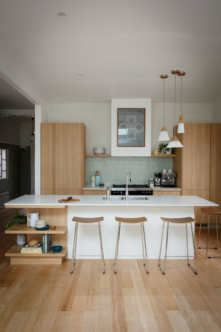 Modern Mid-Century Kitchen