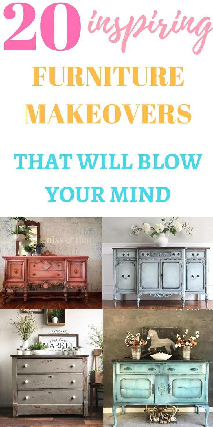 Painted furniture inspiration that will make you want to get some furniture and ...