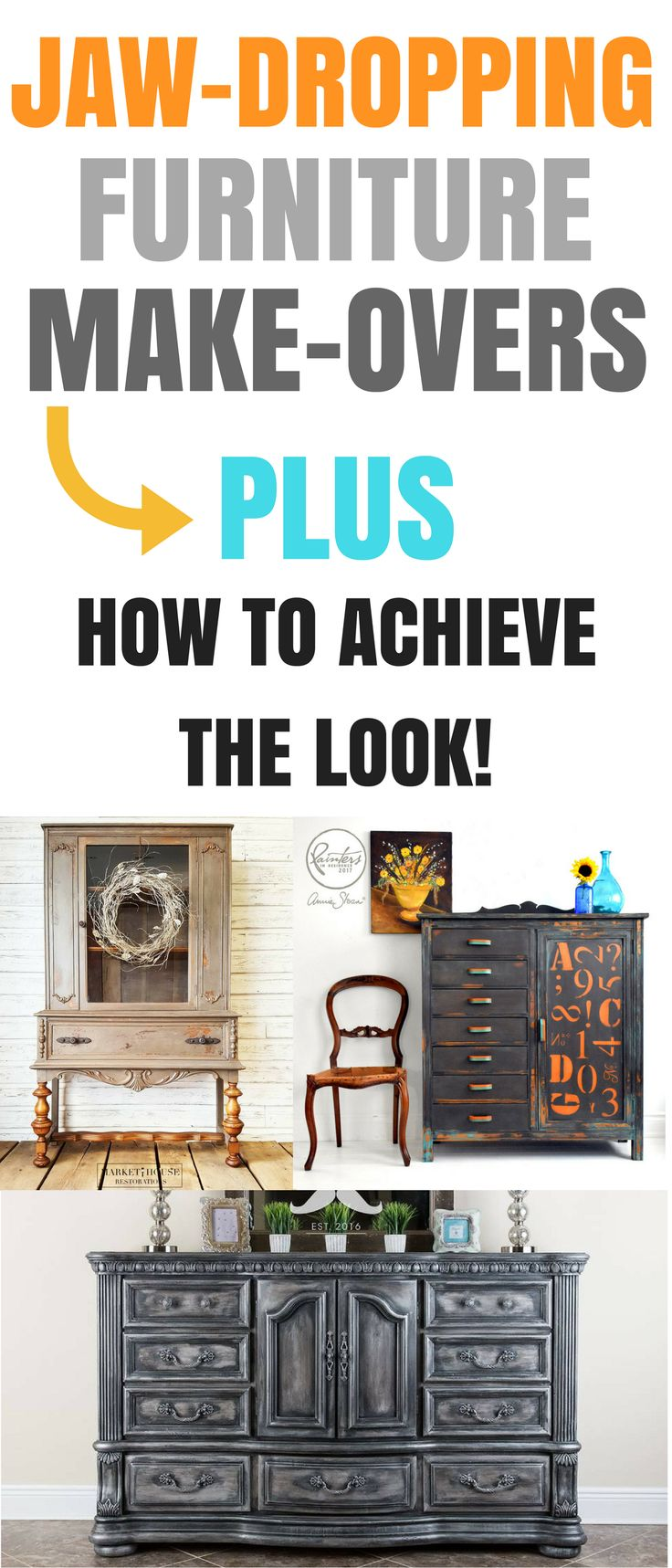These furniture make-overs are amazing! These furniture flippers are incredibly ...