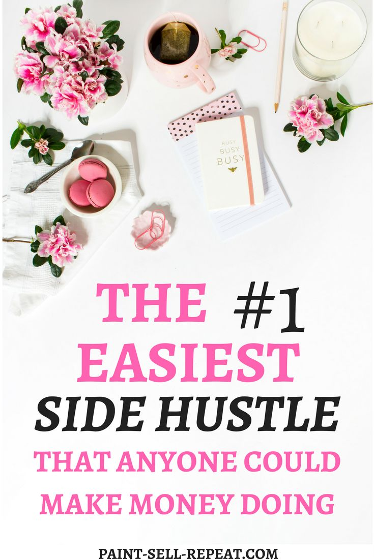 This side hustle idea is genius! So easy and fun, anyone could make extra cash d...